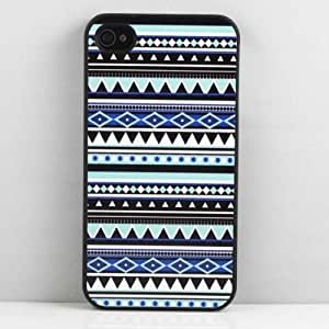 Aztec Tribal Pattern Hard Snap on Case Cover for Apple Iphone 4 Iphone 4s Cellphone Case by icecream design