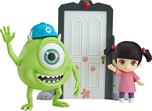 Good Smile Monsters Inc: Mike & Boo Deluxe Nendoroid Action Figure -