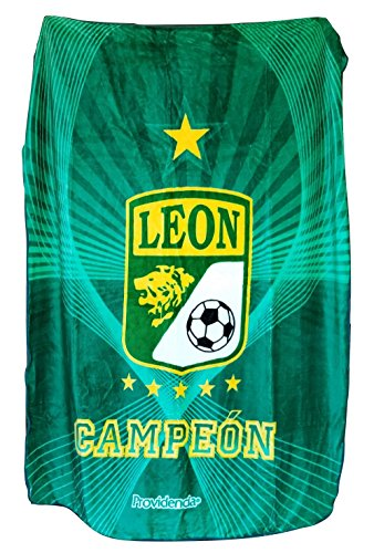 Club Leon Campeon Mink Full Size Blanket New in Original Package Made In Mexico by Colap