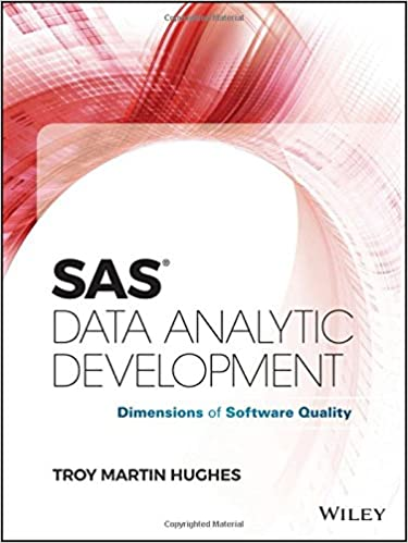 SAS Data Analytic Development: Dimensions of Software Quality 电子书 第1张