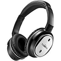 BASSBO Active Noise Cancelling/Active Noise Reduction Technology Wireless Bluetooth Over-ear Stereo Headphones,Wireless & Wired,Super COMFORTABLE and Lightweight Headset Design