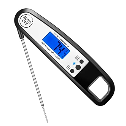 Amazon com: EldHus Digital Instant Read Meat Thermometer with Beer