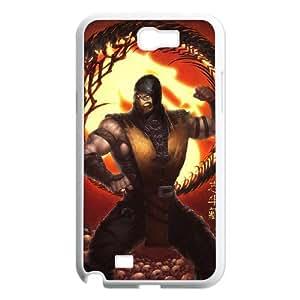 IMISSU Mortal Kombat X2 Phone Case For Samsung Galaxy Note 2 N7100 [Pattern-2]