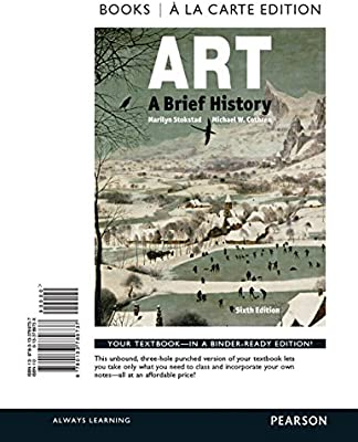 art a brief history books a la carte edition plus new mylab arts for art history access card package 6th edition