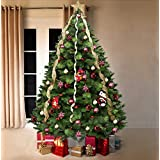 Quality Artificial Christmas Trees - Green Norsman Spruce | 6.5 ft Tall (195cm) Nearly 4ft Wide | Modern, Stylish & Contemporary Quality Xmas Trees by Vert Lifestyle
