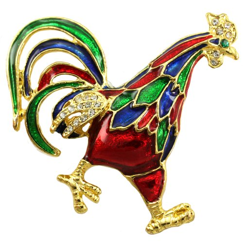 chicken brooch - 5