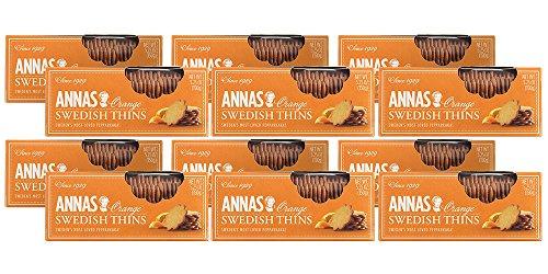 - Annas Thins | Orange Pepparkakor | 5.25 Ounce (Pack of 12) non-GMO + Vegan