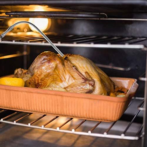 Wilk Medici/ón de la Temperatura del term/ómetro de la Herramienta a Prueba de Agua h/íbrido sonda de Repuesto para Digital Que Cocina el term/ómetro de Carne