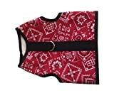 Kitty Holster Cat Harness, X-Small, Red Bandana