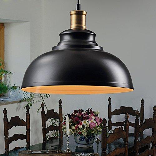MOMO Personalized Decorative Lighting Wooden Led Pine Cone Pendant (50Cm),All Black