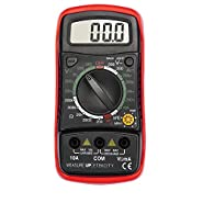 Etekcity Digital Multimeter Battery Tester with hFE