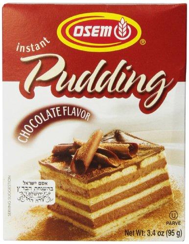 Osem Pudding, Chocolate, 3.3 Ounce (Pack of (Osem Chocolate Cake)