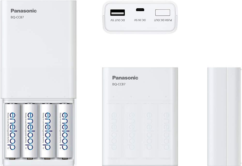 Amazon.com: Panasonic K-KJ87M3A4BA - Cargador de batería ...