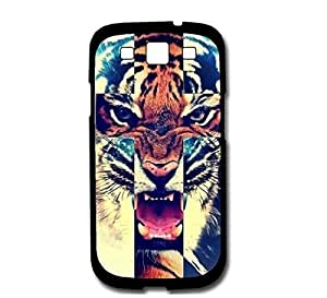 2015 customized Tiger Roar Cross Hipster Quote Samsung Galaxy S3 SIII i9300 Case Fits Samsung Galaxy S3 SIII i9300