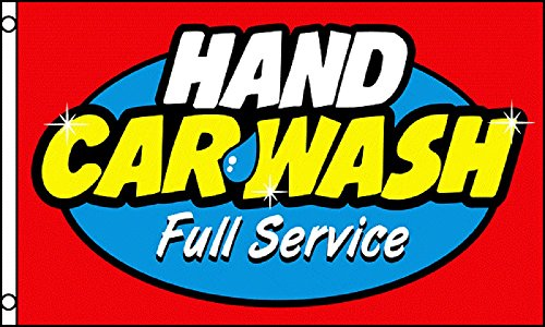 hand car wash flag - 6