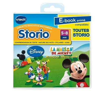 Vtech E Book Anime Storio La Maison De Mickey Magi Livre