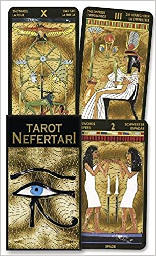 Tarot Nefertari Multilingual Edition by Lo Scarabeo 2000-09 ...