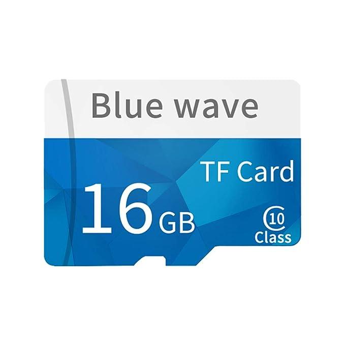 Daliuing Tarjeta Micro SD de 16GB 10 Clase 90MB / s Tarjeta de ...