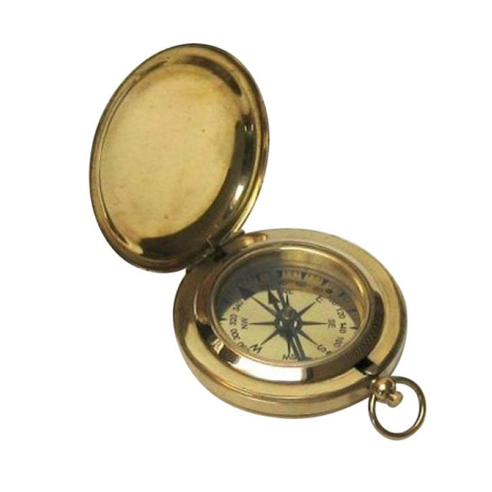 Push Button Compass 2'' by India Nautical Store