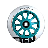 Lucky TEN 110mm Whels, Teal/White, Blake Bailor Sig