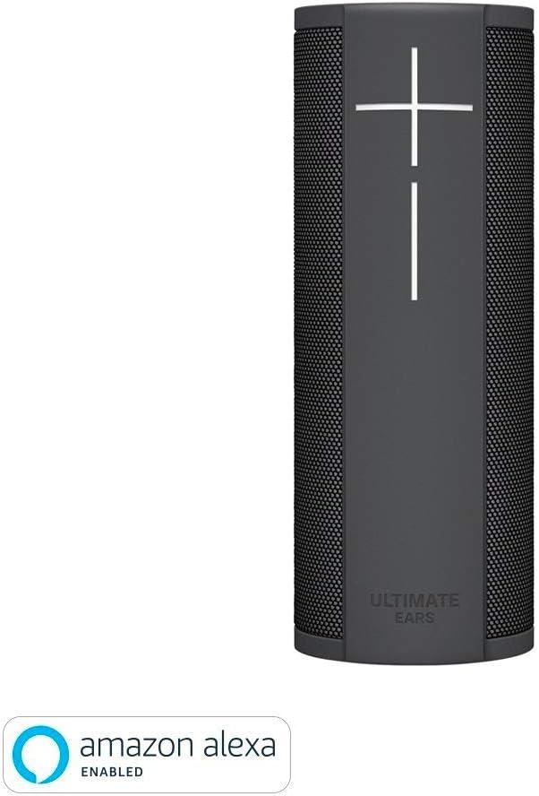 Ultimate Ears Megablast Altavoz Portátil Inalámbrico Wifi y Bluetooth, Graves Profundos, Compatible con Alexa, Impermeable, Conexión múltiple, Batería de 15 h, color Negro