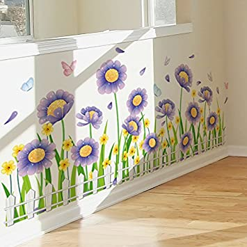 amazon com miniwall you can remove the wall sticker painting walls