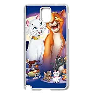 Samsung Galaxy Note 3 Cell Phone Case Covers White AristoCats lyjz