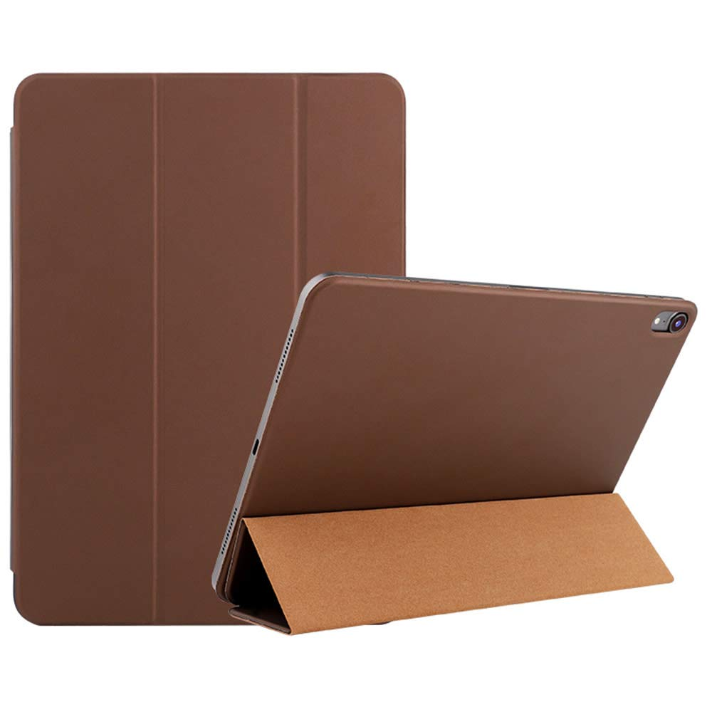 【日本未発売】 iPad Pro 12.9 inch B07KVJRY7J 2018用Pinhenケース inch - スリムで軽量のスマートフォリオシェル3つ折りスタンドカバー、サポートマグネット付きチャージ/ペアおよび強力な磁気吸着(磁気ブラウン) iPad B07KVJRY7J, ナカク:03bd524b --- a0267596.xsph.ru