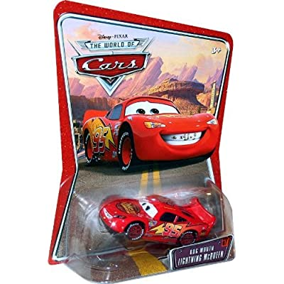 BUG MOUTH LIGHTNING MCQUEEN #07 Disney / Pixar CARS 1:55 Scale THE WORLD OF CARS Die-Cast Vehicle: Toys & Games