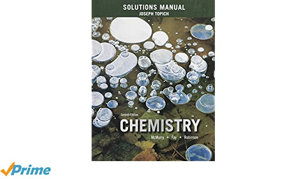 solutions manual for chemistry john e mcmurry robert c fay jill rh amazon com Solution Manual Dummit Solution Manual Dummit