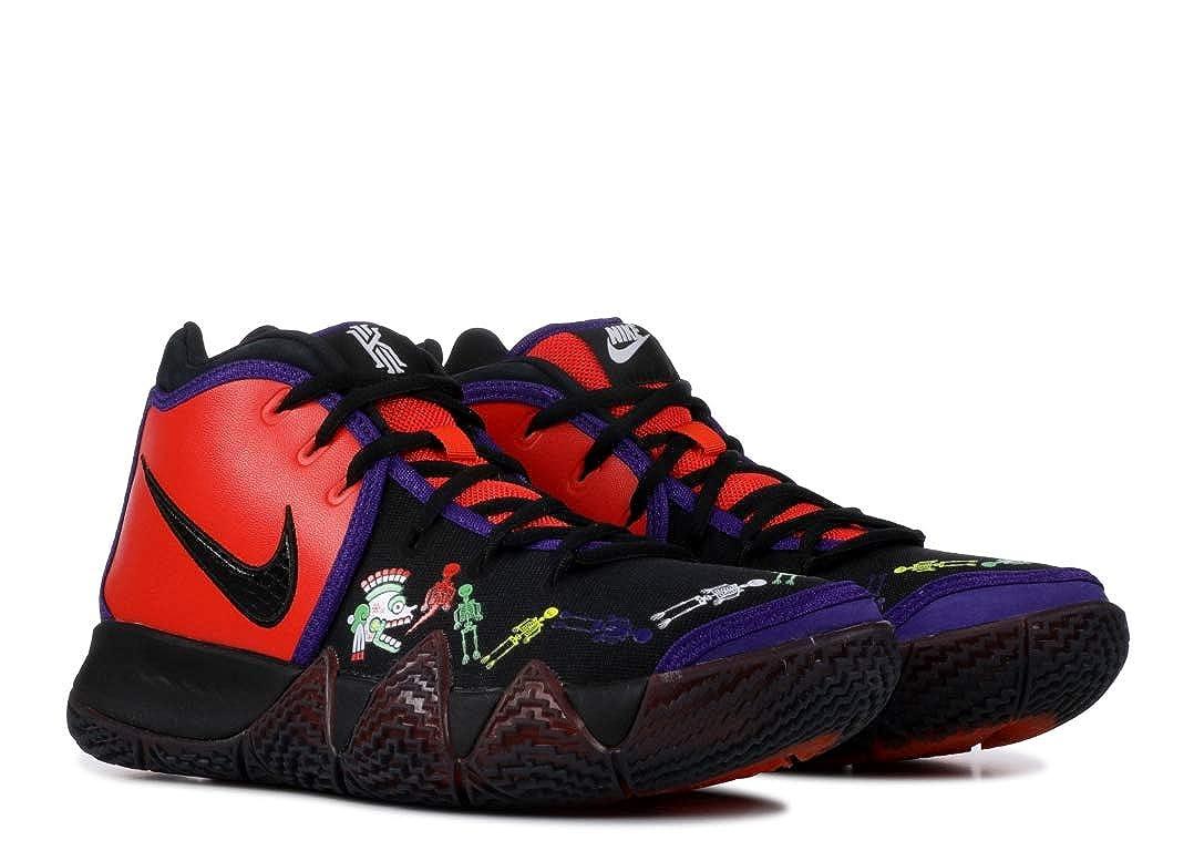 huge discount 0e572 91d20 Nike Men's Kyrie 4 Basketball Shoes (9.5 M US, Team Orange,  Black-Multi-Color)