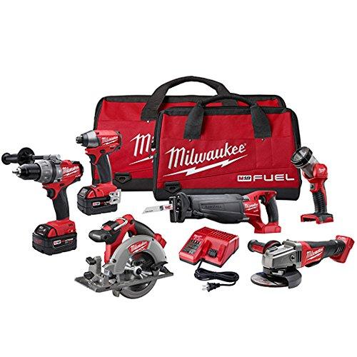 Milwaukee 2796-26 M18 Fuel 6-tool Combo Kit