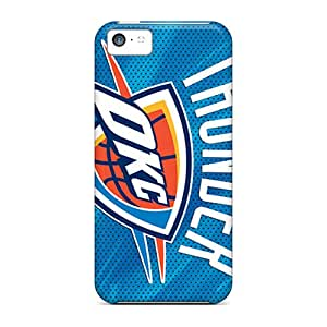 High Quality Shock Absorbing Case For Iphone 5c-oklahoma City Thunder