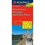 Rheinhessen - Rheingau - Naheland - Mainz: Fahrradkarte. GPS-genau. 1:70000 (KOMPASS-Fahrradkarten Deutschland, Band 3089)