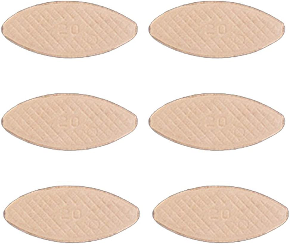0# Matedepreso Wood Biscuits Joiner 100 unids//Set F/ácil de Instalar Home Craft Supplies Art Durabilidad Fuerza Estabilidad para carpinter/ía Modelo Herramienta Placas de conexi/ón DIY