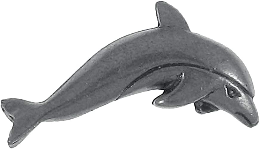 Pewter Dolphin Pin Badge