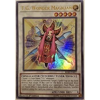 Ultra Rare Yugioh BLRR-EN057 Wonder Magician 1st Edition Near Mint, T.G