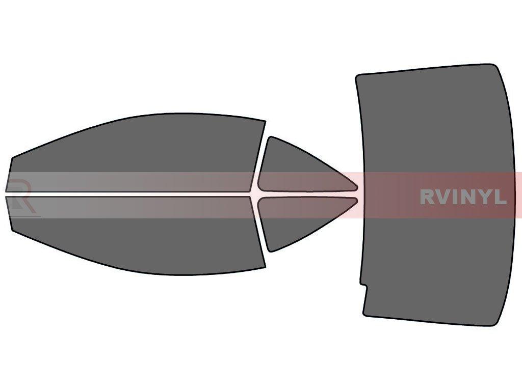 5/% Coupe Rtint Window Tint Kit for Honda Civic 2006-2011 - Complete Kit