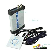 Test Equipment PC Based 3in1 USB Digital Oscilloscope 2CH 20MHz 48MS/s Spectrum Analyzer Data Logger
