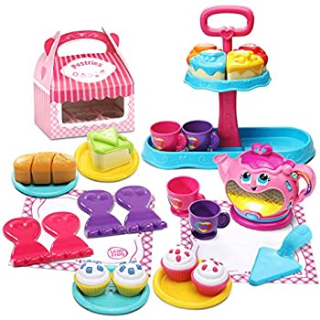 LeapFrog Sweet Treats Musical Deluxe Tea Set Amazon Exclusive