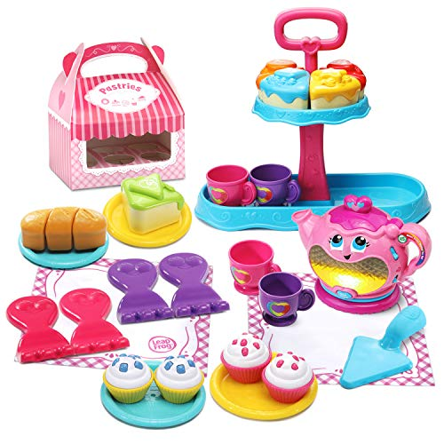 - LeapFrog Sweet Treats Musical Deluxe Tea Set (Amazon Exclusive)