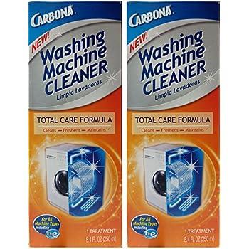 Amazon Com Carbona Washing Machine Cleaner 8 4 Fluid