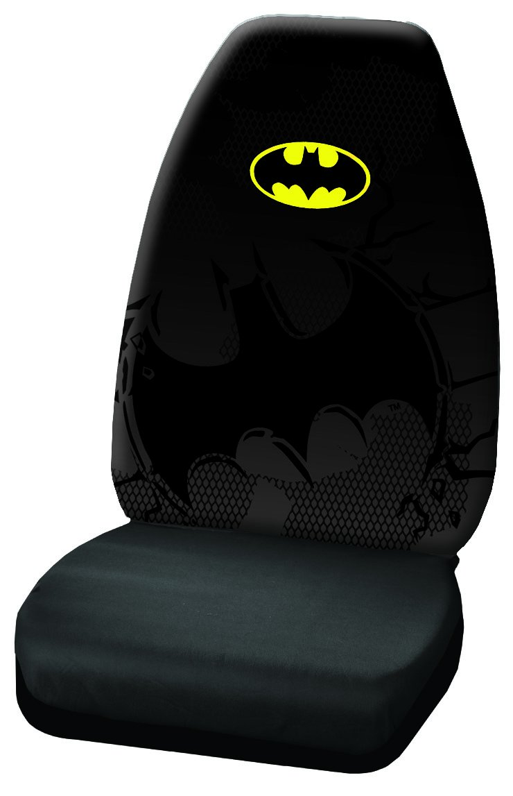 Plasticolor 006593R01 Warner Brothers Batman Shattered High Back Seat Cover