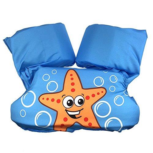 Supfirefly Kids Floaties Swim Trainer Vest Pool Floats Children ()