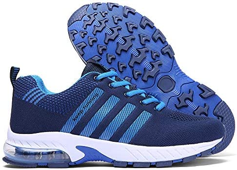 Ahico Men Women Running Shoes Tennis Shoe Air Cushion Lightweight Fashion Walking Shoes Sneakers Breathable Athletic Training Sport 14
