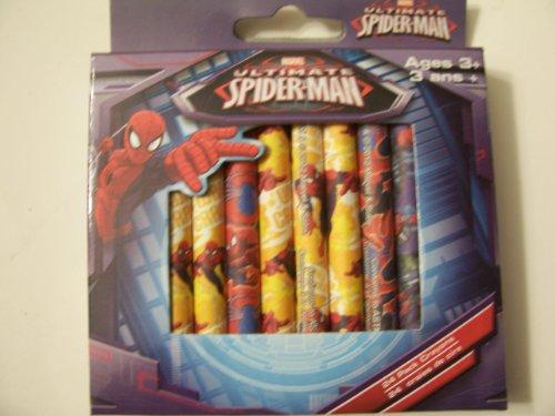 Marvel究極のスパイダーマンのセット24クレヨン~ Spidey and Sayingsの商品画像