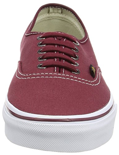VansAuthentic - Zapatillas De Deporte Para Exterior Unisex adulto Rojo - Rouge (Surplus/Port Royale/Port)