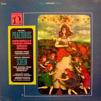 """Praetorius: Christmas Music / Schein: Two Suites From """"Banchetto Musicale"""" Ferdinand Conrad Instrumental Ensemble / Niedersächsischer Singkreis, - Hanover Mall"""