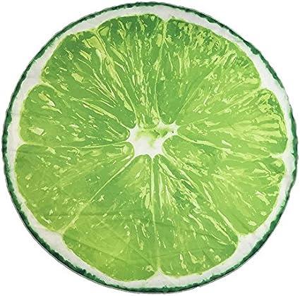 Mujer y Ni/ños Toalla de Fantas/ías de Colores Casa Lemon Absorci/ón M/áxima Ideal para Playa Ducomi Maiorca Piscina /Ø 150 cm Pic-Nic Toalla de Playa Redonda de Microfibra Hombre