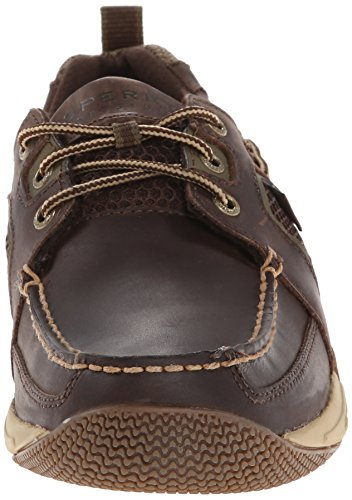 Sperry Top-sider Mens Sea Kite Scarpa Sportiva Da Barca Marrone
